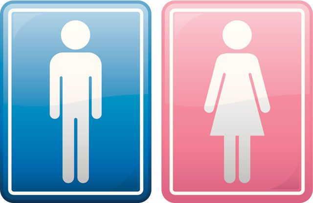 bathroom boy sign. people are loving this supermarket\u0027s unisex toilet sign because it fights an anti-lgbt bathroom bill boy l