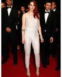 """<p>The new <a href=""""http://www.cosmopolitan.co.uk/fashion/news/kristen-stewart-chanel-campaign-behind-the-scenes"""" target=""""_blank"""">face of Chanel's Paris-Dallas collection</a> Kristen Stewart chose Chanel Couture, natch, to dress her at the Clouds of Sils Maria prem. Opting for trousers rather than a gown Kristen sparkled in a sleeveless top and matching tapered trousers, pairing it with a pair of nude court heels.</p><p><a href=""""http://www.cosmopolitan.co.uk/fashion/shopping/this-week-best-dressed-12-may"""" target=""""_blank"""">BEST DRESSED OF THE WEEK: BLAKE LIVELY, ANGELINA AND MORE</a></p><p><a href=""""http://www.cosmopolitan.co.uk/fashion/shopping/celebs-looking-amazing-in-leather-trousers"""" target=""""_blank"""">HOW TO WEAR LEATHER TROUSERS</a></p><p><a href=""""http://www.cosmopolitan.co.uk/fashion/shopping/15-times-caroline-flack-looked-amazing"""" target=""""_blank"""">15 TIMES CAROLINE FLACK LOOKED AMAZING</a></p>"""