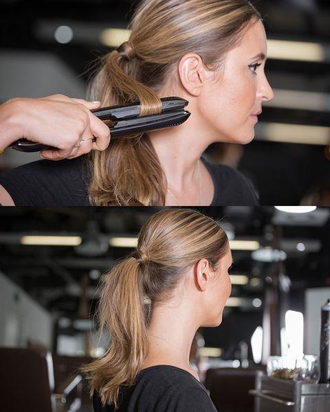 peinados cola de caballo