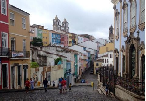 Salvador town