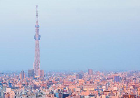 Daytime, Sky, Tower, Urban area, City, Tower block, Metropolitan area, Property, Neighbourhood, Residential area,