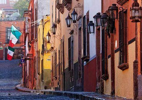 Neighbourhood, Facade, Town, Paint, Art, Colorfulness, Visual arts, Painting, Urban design, Art paint,