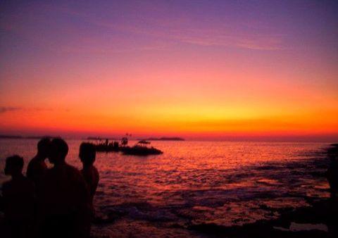 Sky, Horizon, Afterglow, Sunset, Sunrise, Sea, Red sky at morning, Ocean, Dusk, Evening,