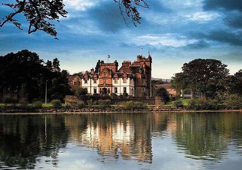 Reflection, Water, Waterway, Tree, Building, Bank, Watercourse, Pond, Reservoir, Lake,