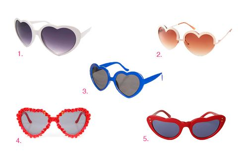 Eyewear, Vision care, Product, Red, Photograph, Sunglasses, Pink, Pattern, Light, Personal protective equipment,