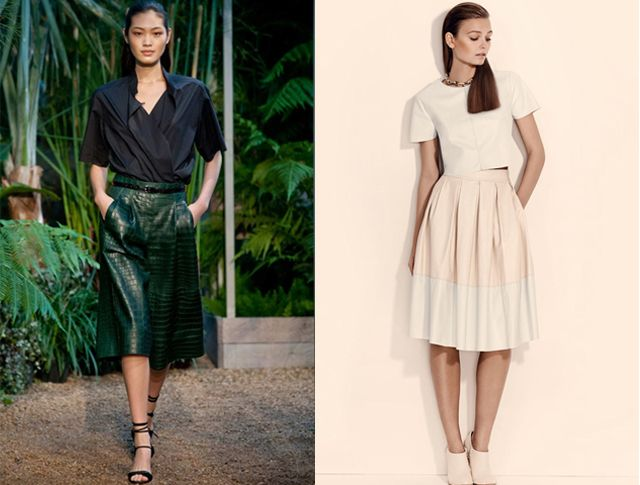 d3c122896ad6 How to wear the midi skirt