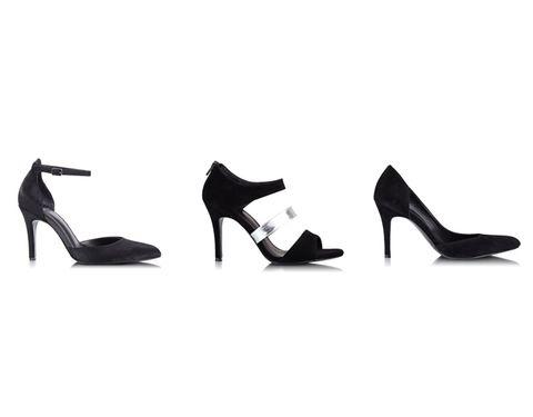 Footwear, High heels, Basic pump, Fashion, Sandal, Black, Beige, Court shoe, Dancing shoe, Fashion design,