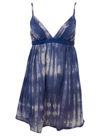 """<p>Indigo tie dye dress, £10 (was £20), <a target=""""_blank"""" href=""""http://www.missselfridge.com/webapp/wcs/stores/servlet/ProductDisplay?beginIndex=20&viewAllFlag=false&catalogId=20555&storeId=12554&categoryId=126963&parent_category_rn=63782&productId=1050861&langId=-1"""">Miss Selfridge</a> -  I'm always on the hunt for a beach dress that I can pull on over a bikini.  Miraculously this gorgeous tie-dye dress is half price, so snap it up quick.  Perfect for the beach or late summer festivals.<br /><br /></p>"""