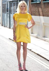"<p>Oh HI Fearne Cotton looking absolutely gorgeous (what's new?). The recently married Radio One DJ pulled out all the stops for her <a href=""http://www.very.co.uk"" target=""_blank"">Very</a> collection launch on Wednesday night, wearing a sunny, buttercup-coloured dress from the range.</p>