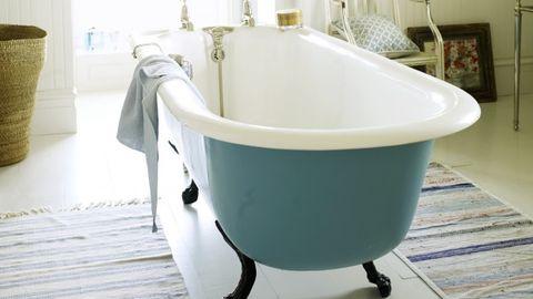 Product, Floor, Plumbing fixture, Room, Flooring, Interior design, Property, Bathtub, Wall, Bathtub accessory,