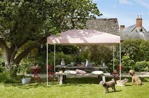 Canopy, Shade, Grass, Pavilion, Patio, Tree, Leisure, Backyard, Building, Yard,