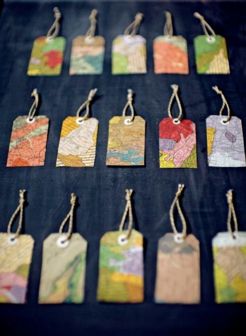 Make Your Own Gift Tags Paper Only