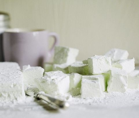 White, Turkish delight, Food, Sugar, Sweetness, Serveware, Confectionery, Dairy, Cuisine, Still life,