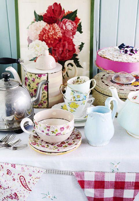 Marvellous Vintage High Tea Table Settings Ideas - Best Image Engine ...