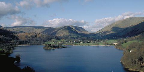 Grasmere Lake in Cumbria