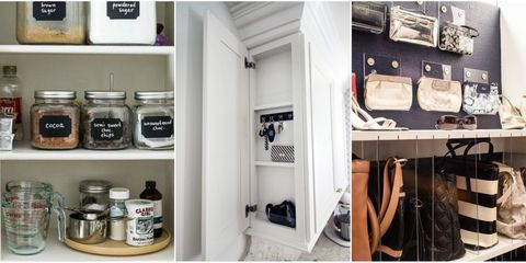 Room, Shelf, Shelving, Food storage containers, Bag, Collection, Tin, Crock,