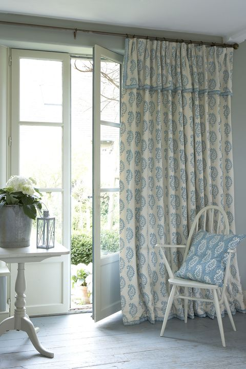 Long Curtains Window
