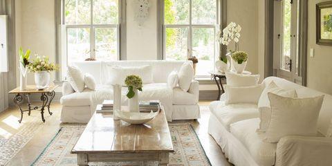 Room, Interior design, Green, Window, Living room, Furniture, Floor, Table, Home, White,