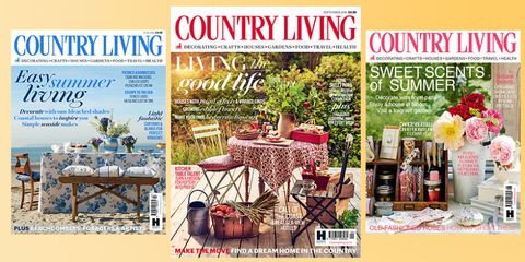 country living magazine covers