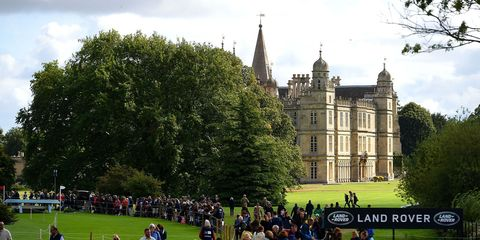burghley horse trails