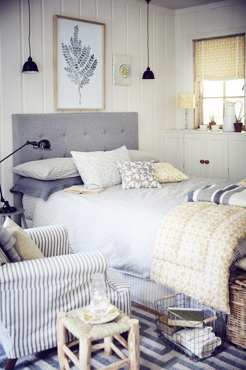 corris headboard bed bedroom