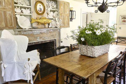 Room, Interior design, Table, Furniture, Interior design, Floor, Ceiling, Home, Flowerpot, Picture frame,