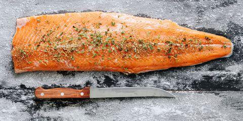 salmon hygge