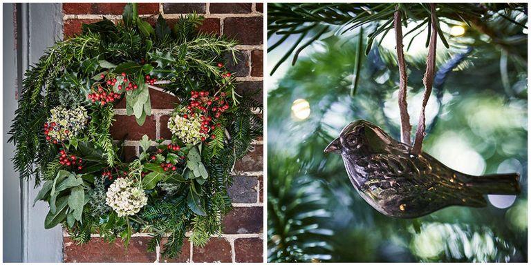 10 rustic christmas decoration ideas homemade christmas for Homemade christmas table decorations uk
