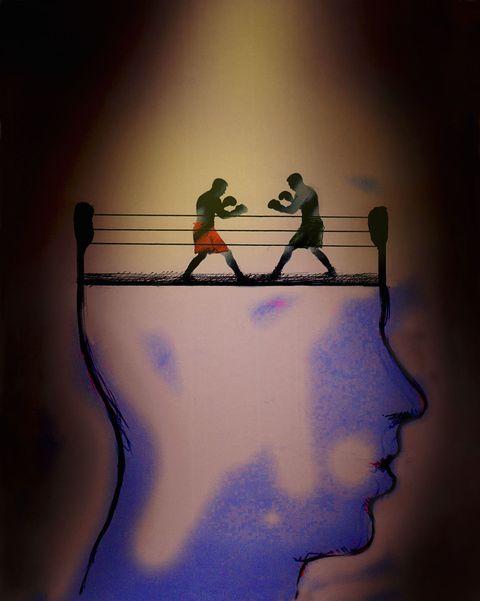 social anxiety cartoon