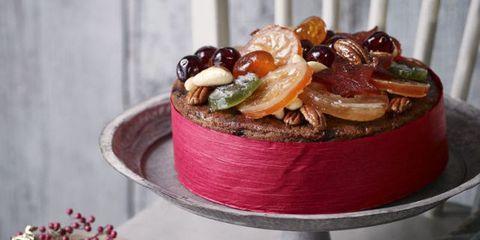 image - Christmas Fruit Cake Decoration