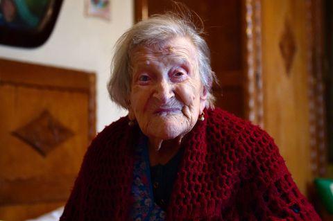 Emma Morano old woman