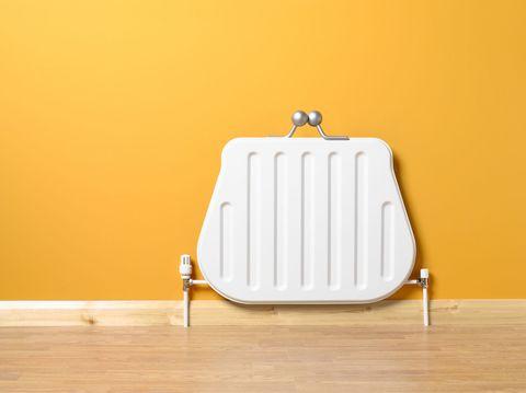 heating radiator purse money