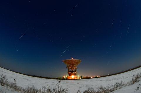 Meteor Shower Sky Night