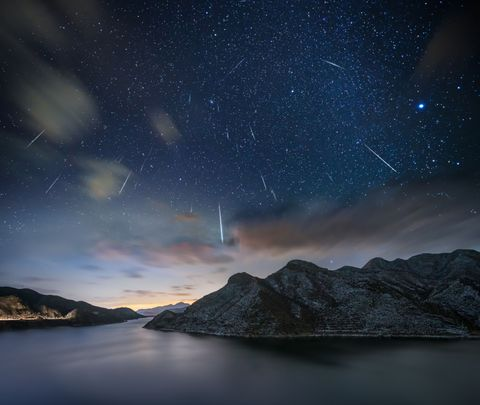 Sky, Astronomical object, Star, Night, Atmosphere, Astronomy, Highland, Natural landscape, Space, Galaxy,