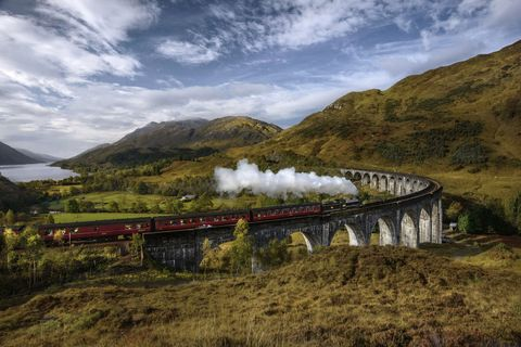 sustainable travel - scotland rail holiday
