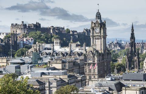 Scotland Edinburgh city