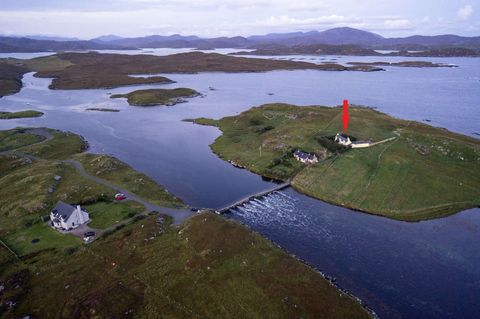 Tigh Na Sith island cottage in Outer Hebrides