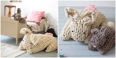 Textile, Room, Interior design, Pattern, Wool, Home, Crochet, Teal, Grey, Linens,