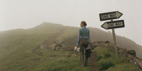 woman path