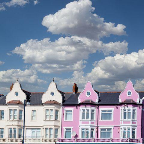 Barry Island houses