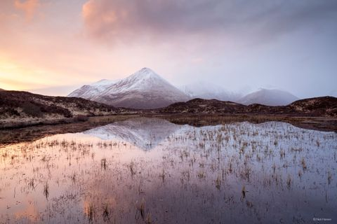 Nick Hanson Scottish Landscape Photographer of the Year Glamaig Reflection