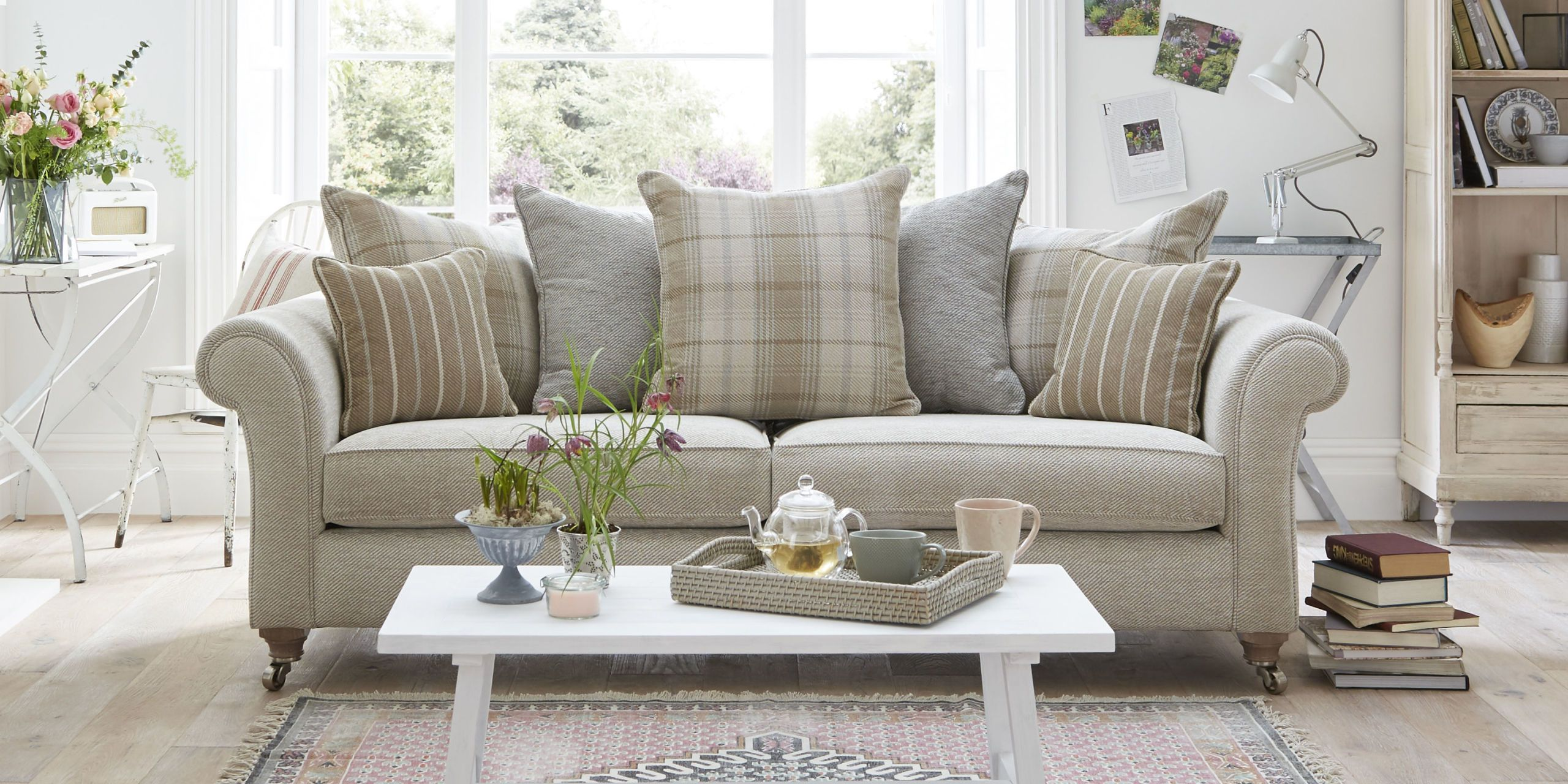 Searching for the perfect sofa is no walk in the park - you want something classic yet comfortable timeless yet on trend. You need a sofa you can snuggle ... & The Country Living Morland sofa is now at DFS