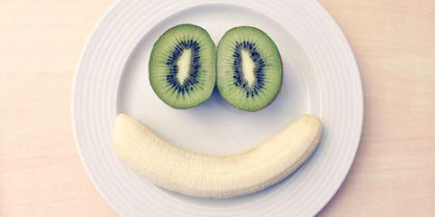 fruit smile happy