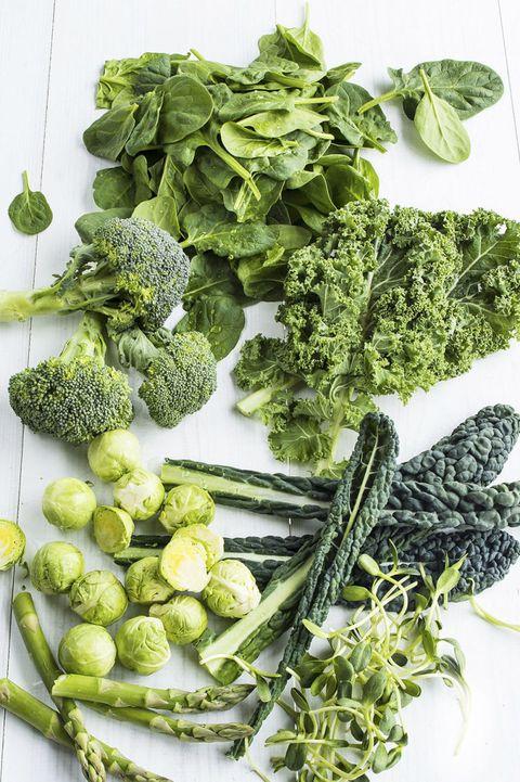 raw healthy greens