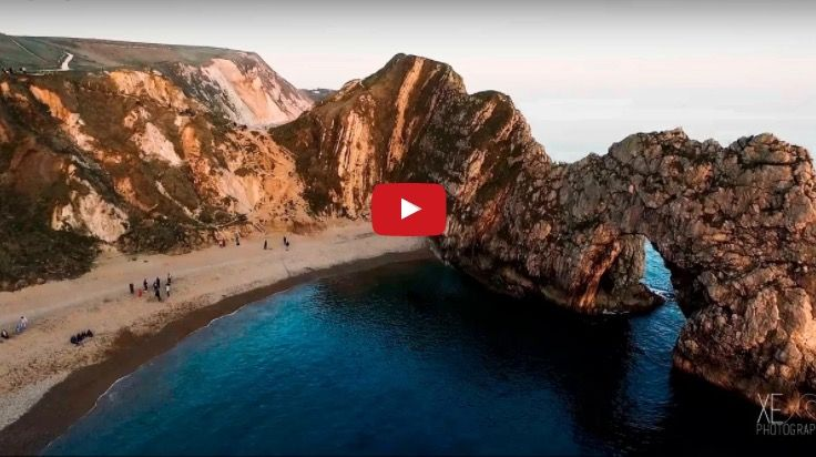 Photographer captures extraordinary pictures of Dorset from a flying drone