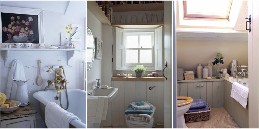 No matter how diminutive these small bathroom decorating ideas will ensure your WC is as stylish as any other room of the house & Small bathroom decorating ideas - Small spaces