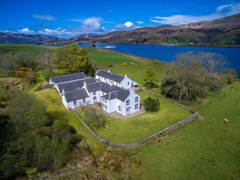 Rhubodach cottage scotland
