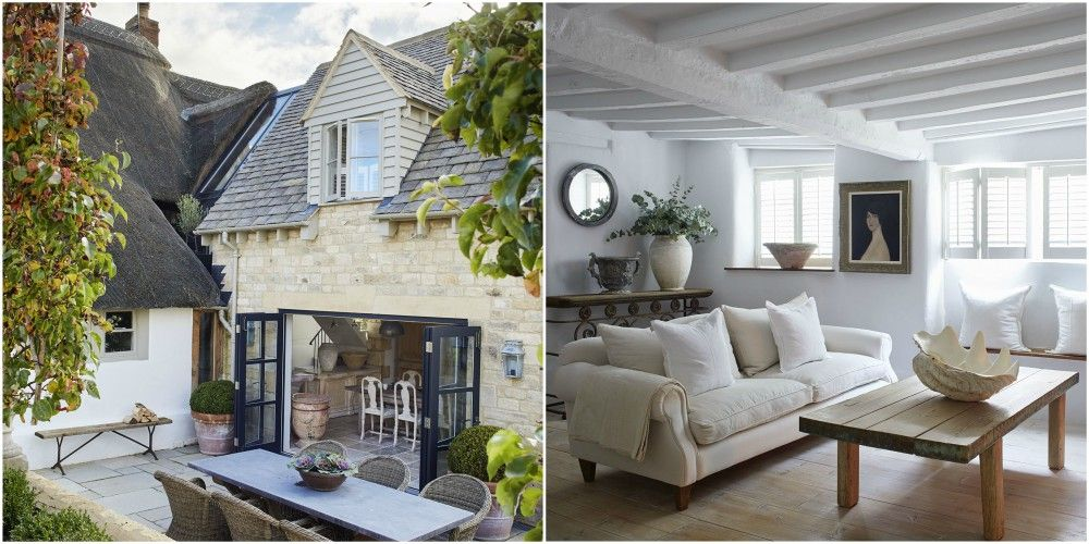 This Cotswold cottage has been transformed into a modern rustic ...