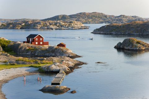 Sweden west coast and countryside