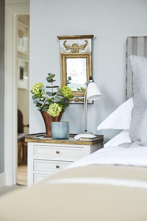 houseplants bedroom bed